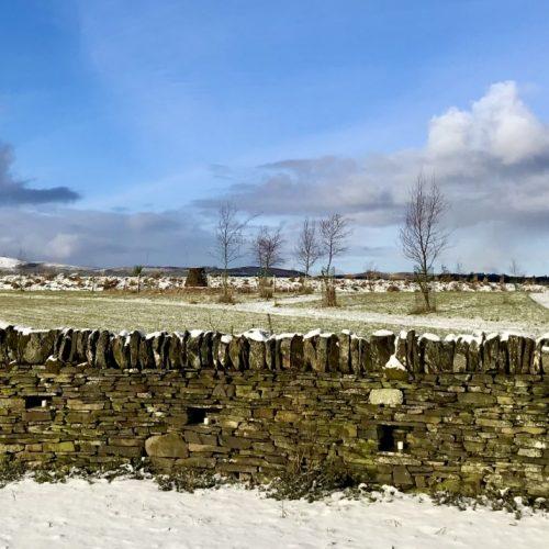 Winter burial ground